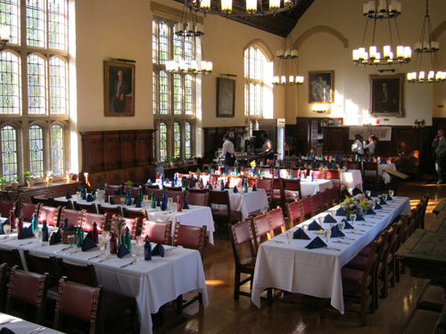 Dining hall branford college for U of t dining hall